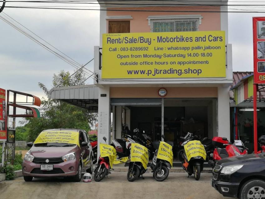 155cc bikes rent 2.500/3.000 ฿/month