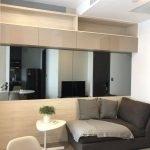 For rent Ashton Chula-Silom-> Studio, size 26 sq.m.