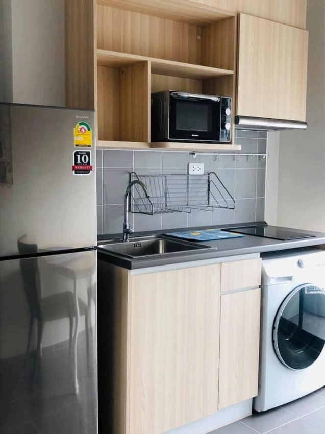 For Rent !! Ideo O2  1 Bed Full Furniture + Kitchen  34 Sqm. 26 Floors