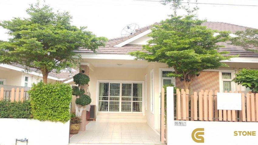 #HS911 A Beautiful Village 3 Bedroom 2 Bath For Sale @ East pattaya