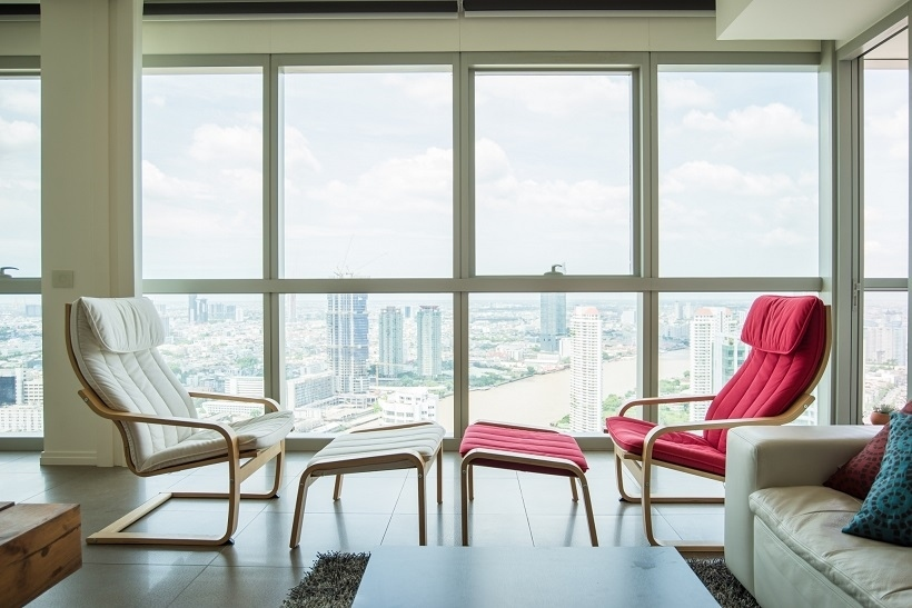 Amazing river view condo 3 beds for sale  at The River Bangkok