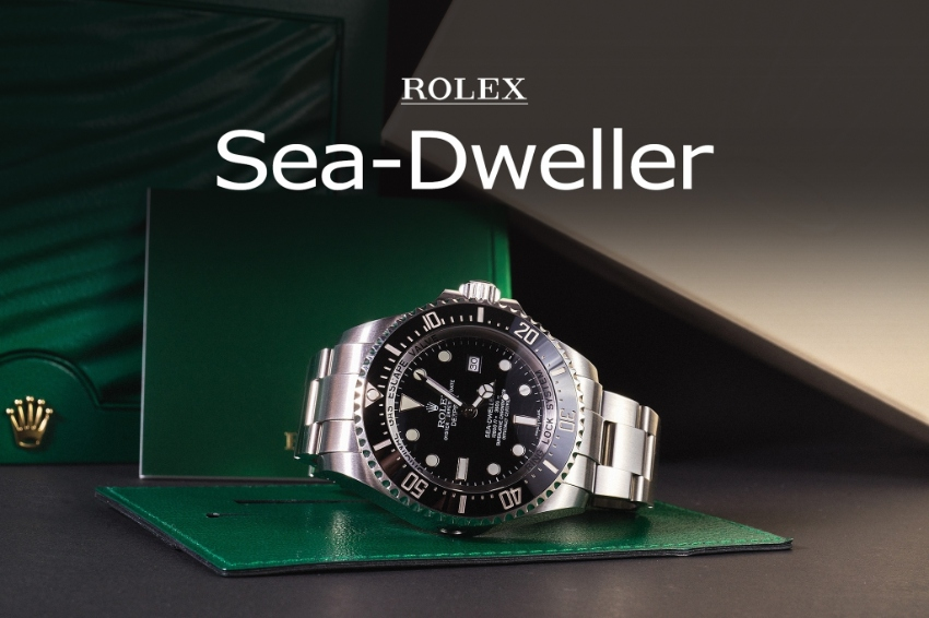 Rolex Sea-Dweller 116660 Pre-owned 2015