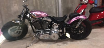 Custom one off Harley Davidson show winner