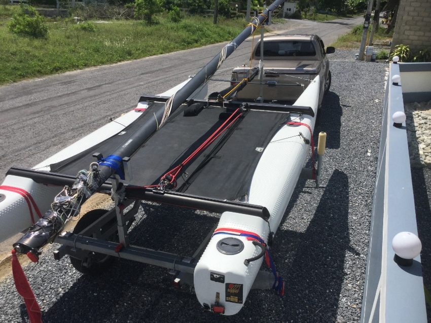 2011 Topaz CAT 16CX High Performance Cat with trailer