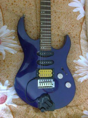 Cobran FA-1 guitar, made in the Jackson factory in Japan in 1995
