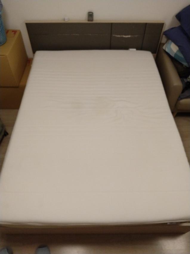 Ikea Tussoy Mattress pad, white, 150x200 cm