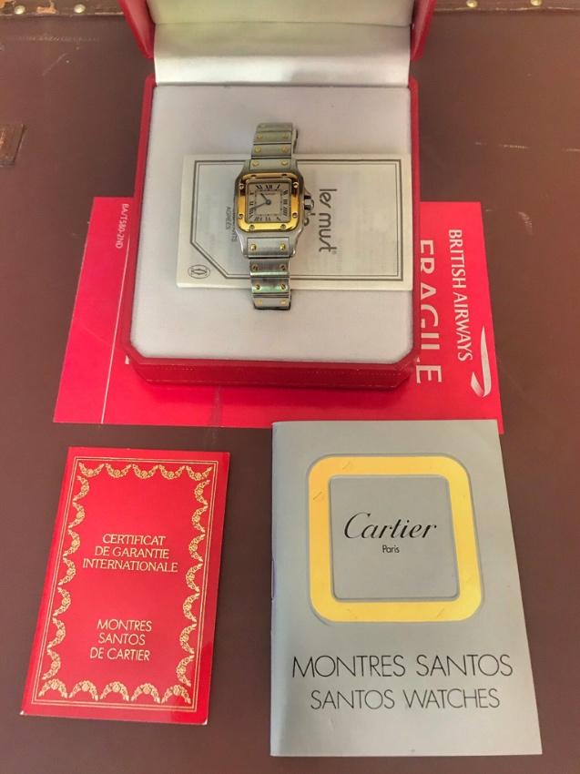 Ladies Cartier Santos Watch