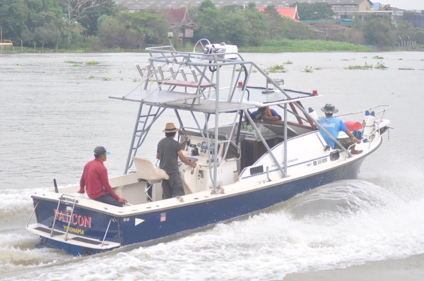 เรือตกปลาแบบโหดๆ Shamrock 26 เรือusa เครื่องดีเชล cummins 210 hp