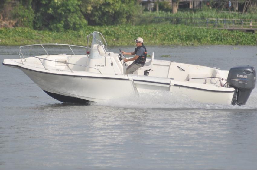 เรือตกปลาตัวใหม่สุดๆ Yamaha YF 21 cc ปี 2007