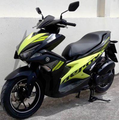01/2018 Yamaha Earox 155 48.900 ฿  Finance by shop