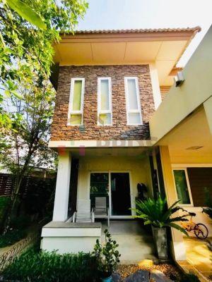 House in the community gated for sale Burasiri Onnut – Bangna