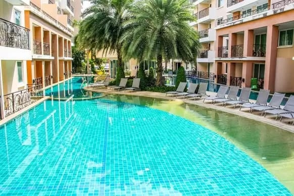 One Bed Condo For Rent ONLY THB 7,000 Month in Paradise Park Resort
