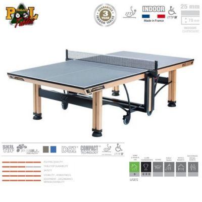 Cornilleau 850 Wood ITTF Table Tennis - Blue Top