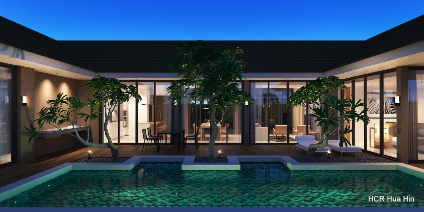 New Project with private pool villa's on soi 112 Hua Hin+Gift.