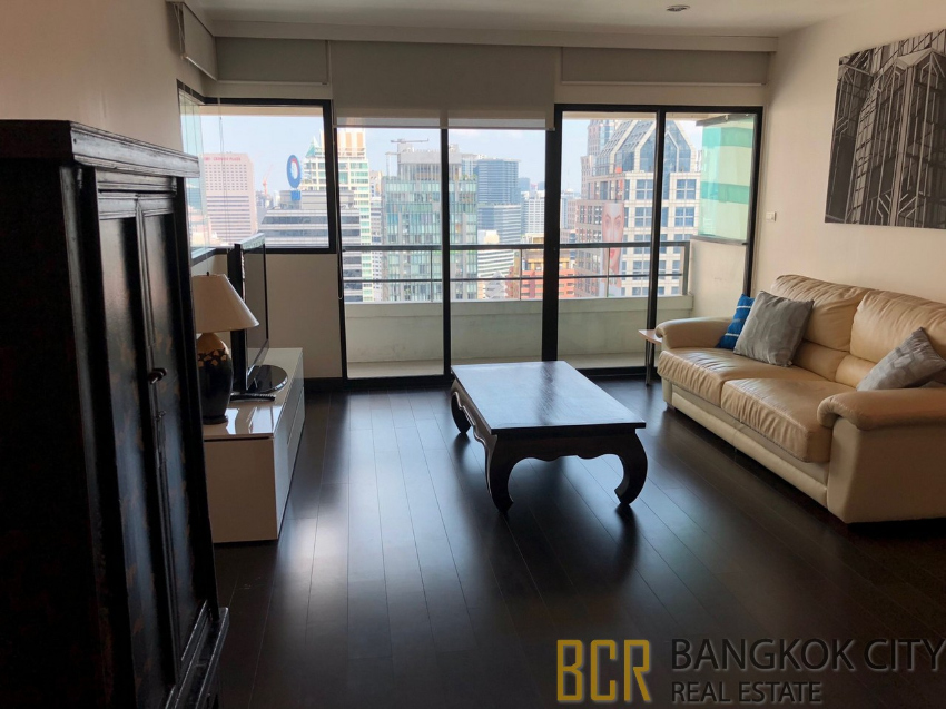 Sathorn Gardens Luxury Condo High Floor 2 Bedroom Unit for Rent - HOT