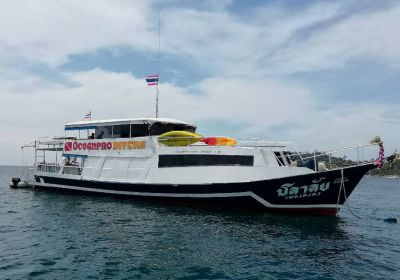 8 passenger Live aboard , day trip dive boat