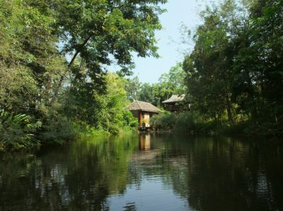 Little Lakeside House (2 br) in Natural Garden, 10 mi to City