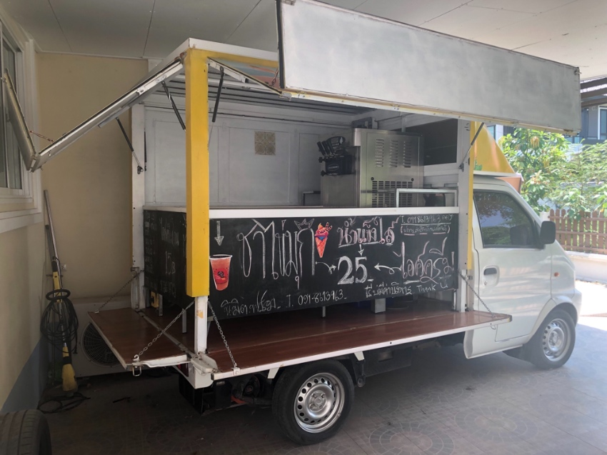 NEW PRICE -Food truck / ice cream / teas - good business opportunity