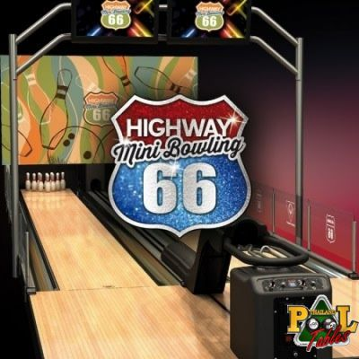 Qubica AMF Highway 66 Mini Bowling Lanes