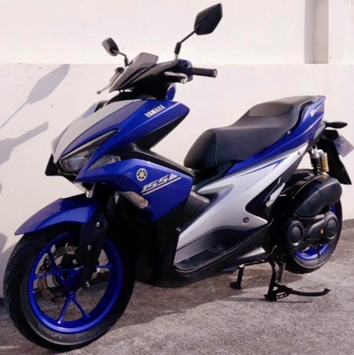 03/2017 Yamaha Aerox 155 5.xxx km 47.900 ฿ Finance by shop