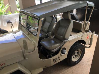 Willy's Jeep CJ-3B 1951- fully restored