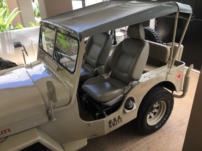 Willy's Jeep CJ-3B 1951- fully restored