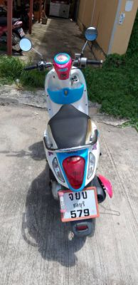 Honda Scoopy i 125 cc good condition low mileage green book
