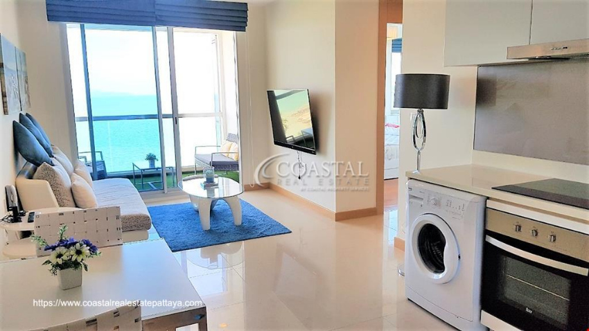 One Bedroom condo for sale at The Palm in Wong Amat.