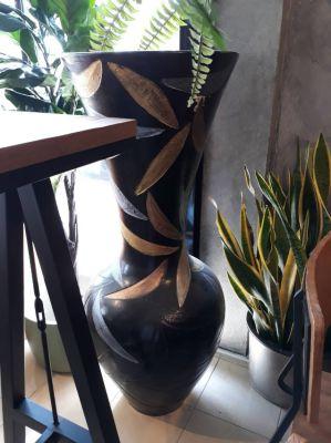 ....rare and extravagant Designer Vase, 120 cm high