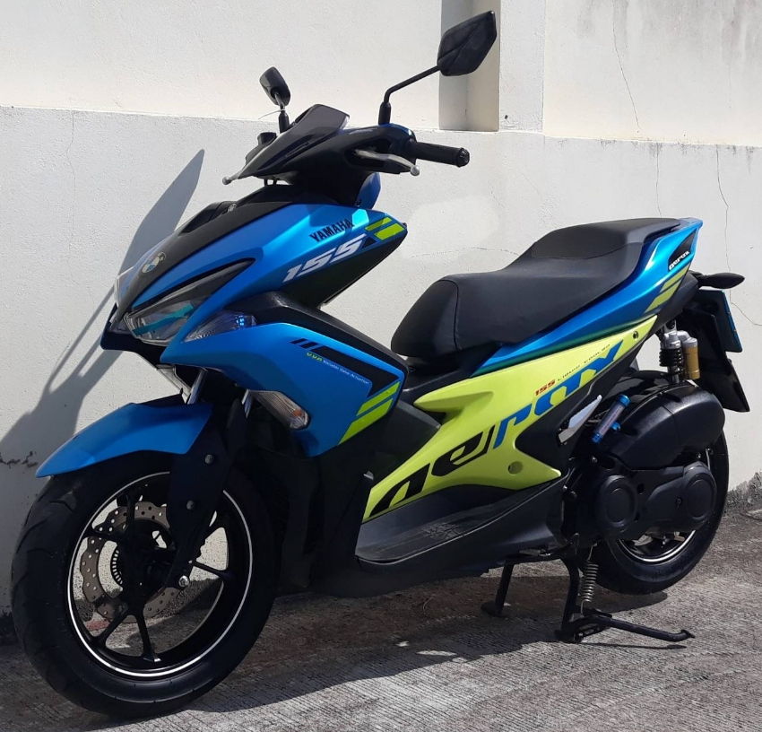 10/2018 Yamaha Aerox 155 53.900 ฿ Finance by shop