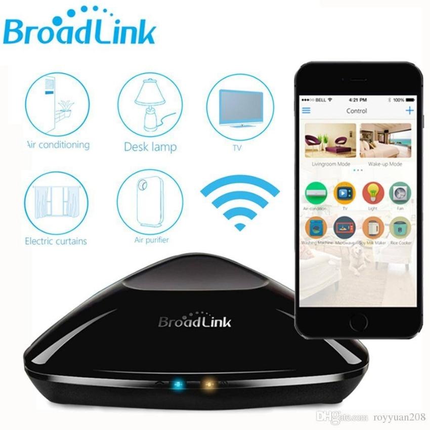 Broadlink RM Pro (Wifi, RF and IR home automation bridge)