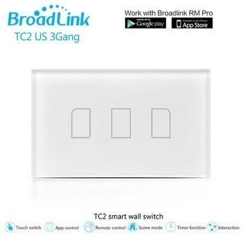 Broadlink Remote controlled Wall switch