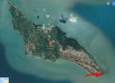 Beachfront land for sale Ko Sukorn - Trang
