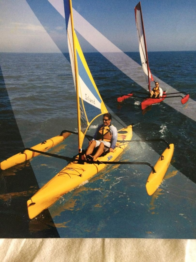 Hobie Adventure Island Sailing Kayak