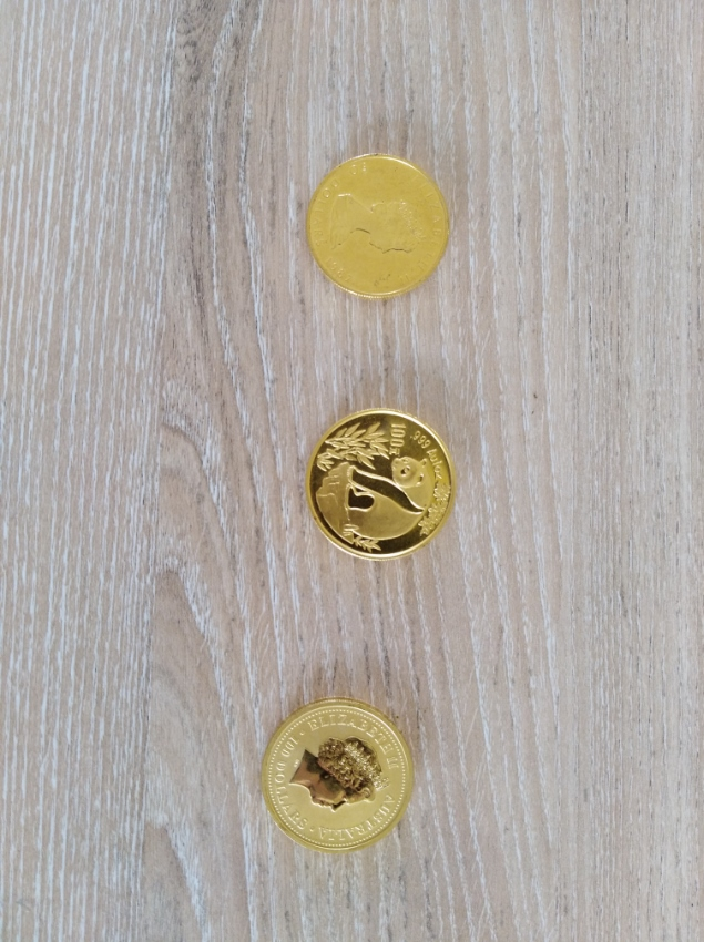 9999 Gold Coins For Sale From Australia, Canada and China Mints (Bangk