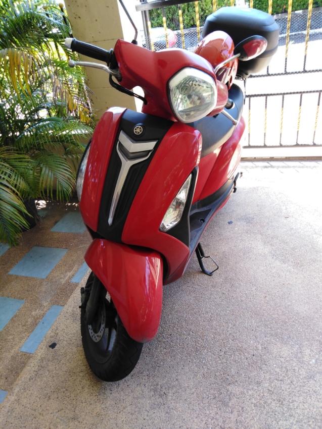 For sale bike Grand Filano in good condition.
