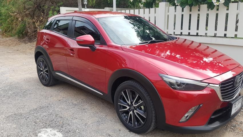 Mazda CX-3 from December 2017.