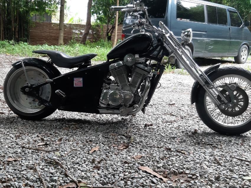 Chopper, 750 cc