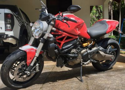 Ducati Monster 821 for sale - only 23xx km