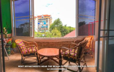 Appart For Rent Pratamnak Hill Jomtien Hill Resort 203