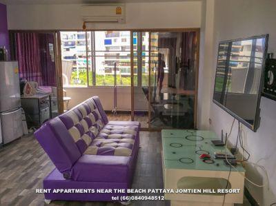 Appart For Rent Pratamnak Hill Jomtien Hill Resort 201