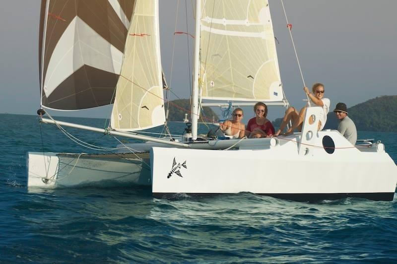 18 ft Catamaran