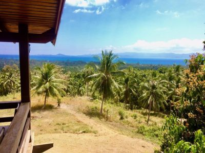 10 RAI SEA VIEW LAND FOR SALE IN KOH PHANGAN WITH HOUSE
