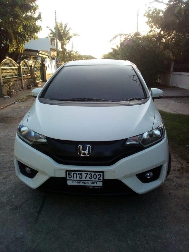 Eco model auto Honda Jazz for rent in Hua Hin