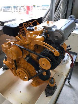 Vetus 328 S , 27 HP marine Diesel engines plus saildrives.