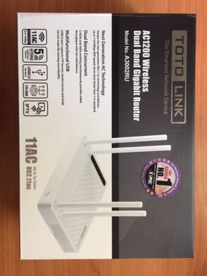 Dual Band Router TOTOLINK Smart Network Device