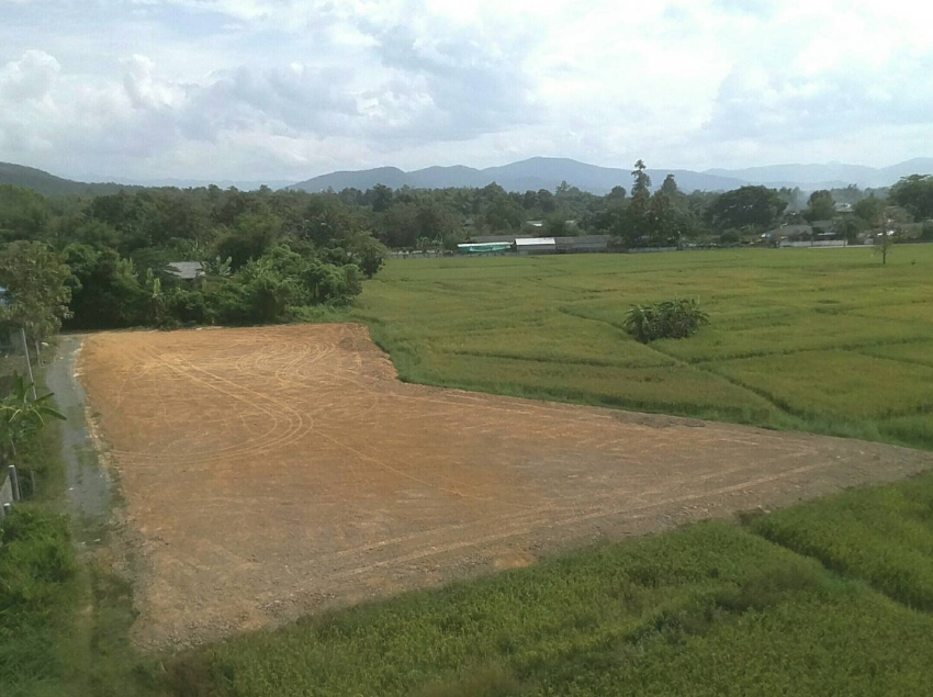 Land with spectacular view in Doi Saket.
