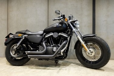 [ For Sale ] Harley Davidson 1200 Custom 2013 with V&H Shortshots Stag