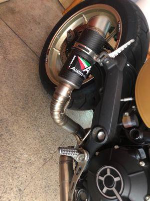 Ducati cafe racer custom