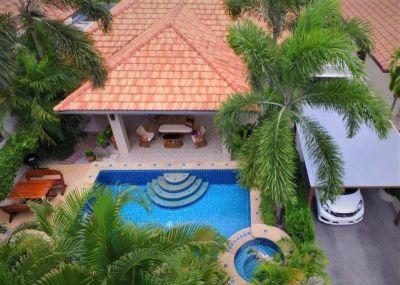 Immaculate 3 BR 2 Bath Semi-Furnished Pool Villa Convenietly Located